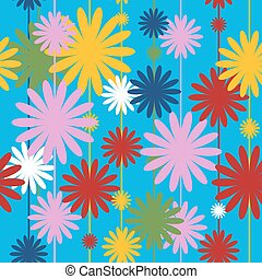 Seamless festive pattern with different colors