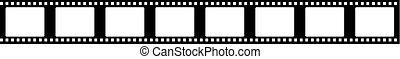 seamless film strip frame