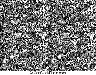 seamless financial pattern