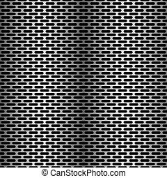 Seamless fine grille pattern texture background in vector format