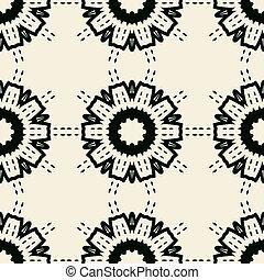 mandala orientalische seamless tapete vektor suche. Black Bedroom Furniture Sets. Home Design Ideas