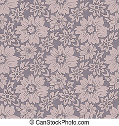 seamless-floral, achtergrond