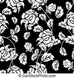 seamless floral background - Seamless floral background