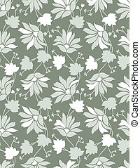 Seamless floral background, pattern
