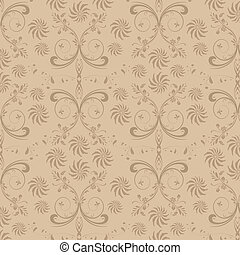 Seamless floral background, pereat pattern