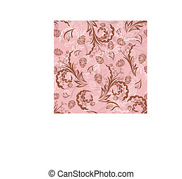seamless floral background - Seamless vector floral ...