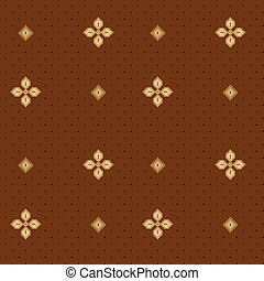 Seamless Floral Pattern 04