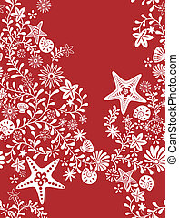 Seamless Floral Pattern 4 - Illustration of Seamless Floral...