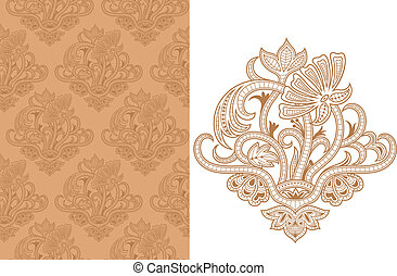 Seamless Floral Pattern B