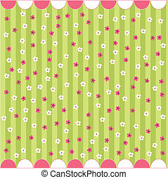 seamless floral pattern, baby card, wallpaper