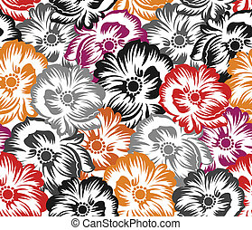 Seamless floral pattern, background