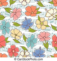 Seamless floral pattern. Best for greeting card
