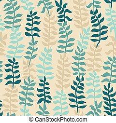 seamless, floral, pattern.