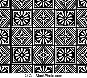 Seamless floral pattern design