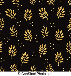 Seamless Floral Pattern. Fashion textile pattern with...