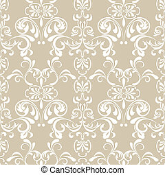 Seamless Floral Pattern - Illustration vector