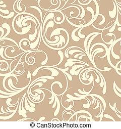 Seamless Floral Pattern - Illustration vector