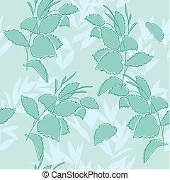seamless floral pattern - vector