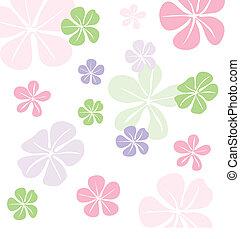Seamless floral pattern, wallpaper