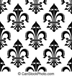Seamless floral royal pattern background
