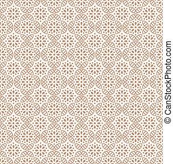 Seamless floral wallpaper design