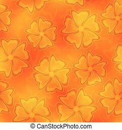 Seamless flower backdrop