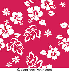 seamless flower fabric pattern