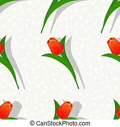 Seamless flower pattern-01