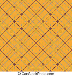 Seamless flower pattern background. EPS 8