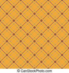 Seamless flower pattern background. EPS 8
