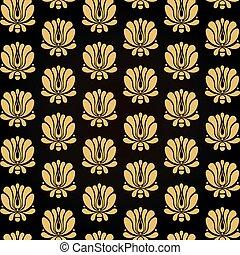 seamless flower pattern background - Vector illustration