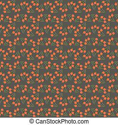 Seamless flower pattern.  illustration