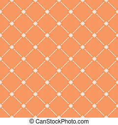 Seamless flower pattern wallpaper. EPS 8 - Vector...