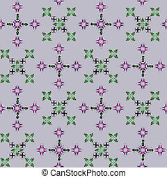 seamless flowerish pattern