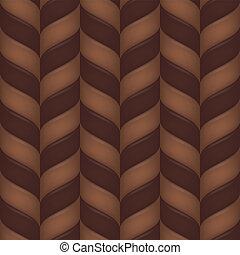 seamless, fond, chocolat