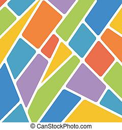 seamless, fond, de, beaucoup, couleur, formes