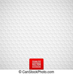 seamless, fond, hexagones