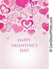 seamless, fond, valentine