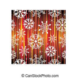 seamless, fondo, fiocchi neve