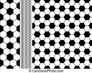 Seamless football (Soccer) pattern. EPS 8
