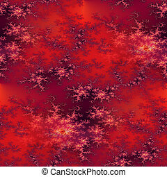 Seamless Fractal Red