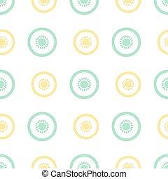 seamless fruit pattern background