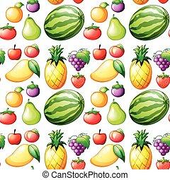 Seamless fruit