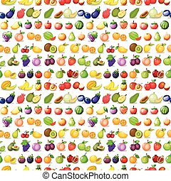 Seamless fruits