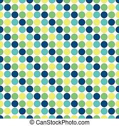 Seamless funky dot pattern background
