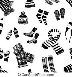 seamless, géneros de punto, lana, plano de fondo