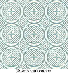 seamless, géométrique, pattern.