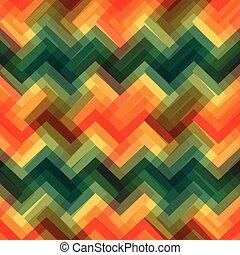 seamless, géométrique, zigzag, modèle