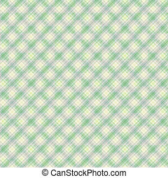 Seamless gentle green diagonal pattern