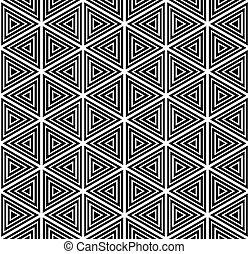 seamless, geomã©´ricas, pattern.